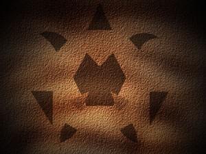 紋章(洞窟内)